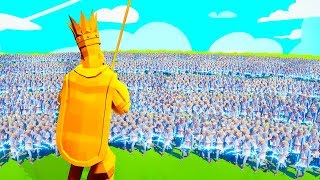GOD KING vs. 10,000 GODS! (Totally Accurate Battle Simulator)