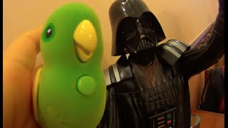 Little Live pets Pássaros piam falam X  Darth Vader Star Wars Guerra nas Estrelas Toys Juguetes Kids