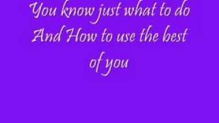 Delta Goodrem - Predictable with lyrics