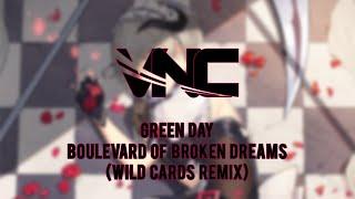 Green Day - Boulevard Of Broken Dreams (Wild Cards Remix) LYRICS