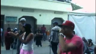 Hacemos Rap En Vivo (Toque en Antimano) Alnoxi and Olegna Ft. Kleyn