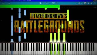 Playerunknown's Battlegrounds Main Menu Theme | Synthesia Piano Tutorial