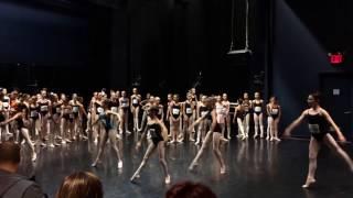 Alexandra Hoffmann at YAGP NYC 2014 Ballet Class