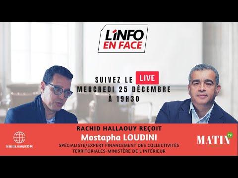 Video : L'Info en Face spécial CNRA avec Mostapha Loudini
