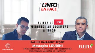 L'Info en Face spécial CNRA avec Mostapha Loudini