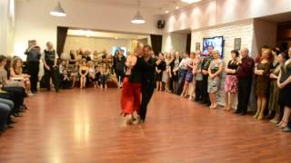 "Elvira y Alex. Milonga in ""Kvartal tango""."