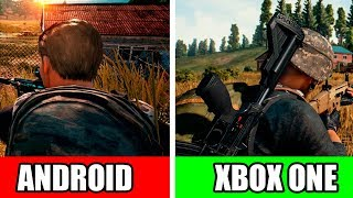 😱ОФИЦИАЛЬНЫЙ PUBG! ANDROID VS XBOX ONE!