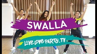 Swalla (Cover by Continuum)  | Live Love Party | Zumba® Fitness