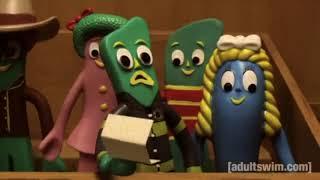 Gumby intro - Robot Chicken version!
