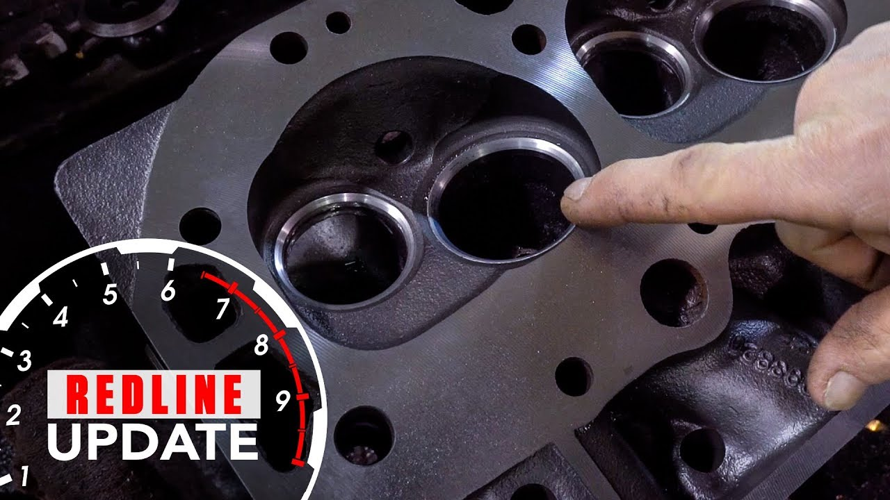 Redline Update: Machining, painting, and reassembling our Chevy 396 Big-Block