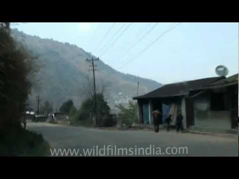 Driving in Greater Kohima