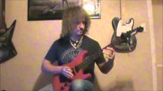 Pseudo Echo - Funkytown Guitar Solo Cover