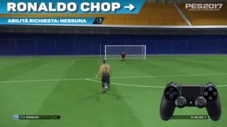 PES 2017 VideoTutorial Ronaldo Chop