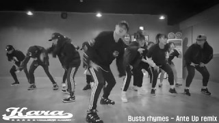 Busta rhymes - Ante Up remix / moment choreography