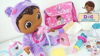 Doc McStuffins Get Better Baby Cece Check Up Doll Disney Nova boneca Doutora Brinquedos em Portugues