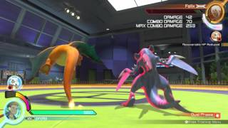 Pokken: Garchomp Move High Stance and Low Stance