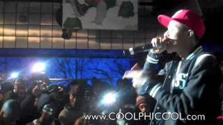 """Diggy Simmons Performs Live""""  Great Expectations """" via Sneaker Pimps NYC 2010 (Best Quality)"""