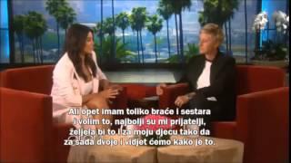 The Ellen show-  Kim Kardashian interview (prijevod na Hrvatski)