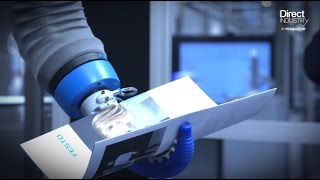 DirectIndustry e-magazine. Festo Unveils New Bionic Robotics at Hannover Messe