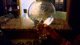 Inverso de enchendo o copo com água ...