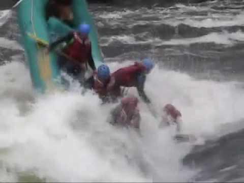 Ultimate Rafting Crash & Burn Video