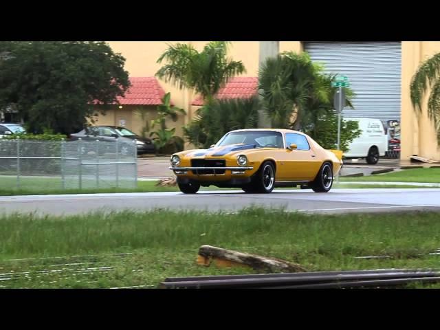 1973 Chevrolet Camaro Z/28 Test Drive  (Brutal Sound)