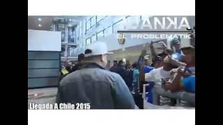 Recibimiento de Juanka El Problematik en Chile 2015