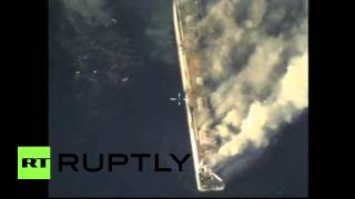 Russia: Watch missile blow vessel out of the water
