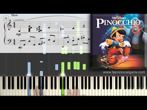 Comment jouer When You Wish upon a Star au piano