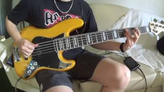 AC/DC - High Voltage (Bass Cover)