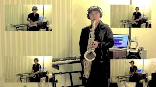 Bruno Mars - Locked Out Of Heaven - Justin Klunk Sax Cover