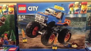 LEGO 60180 - LEGO City 60180 - Starke Fahrzeuge Monster-Truck - Monster-Truck - 60180   City   LEGO