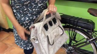 The Alba Pannier by New Looxs from Easy Pedal Bikes