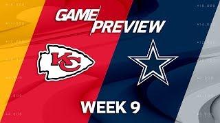 Kansas City Chiefs vs. Dallas Cowboys | NFL Week 9 Game Preview | Move the Sticks
