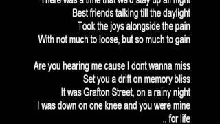 the script - before the worst (lyrics)