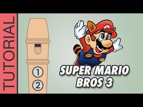 Comment jouer Super Mario 3 Overworld à la flûte
