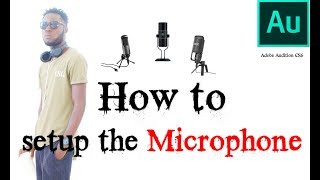 How to setup the Microphone in Adobe Audition CS6