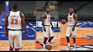NBA 2K18|17 - Tim Hardaway Jr. | To The Knicks 4 Year $71M Deal