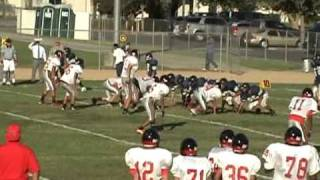 Ayala Freshmen beat South El Monte 36 to 16