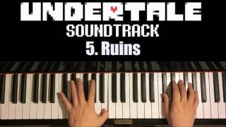 Undertale OST - 5. Ruins (Piano Cover by Amosdoll)
