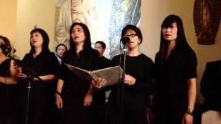 Father Mercy-Yamang Tinig Choir LA-HD Video