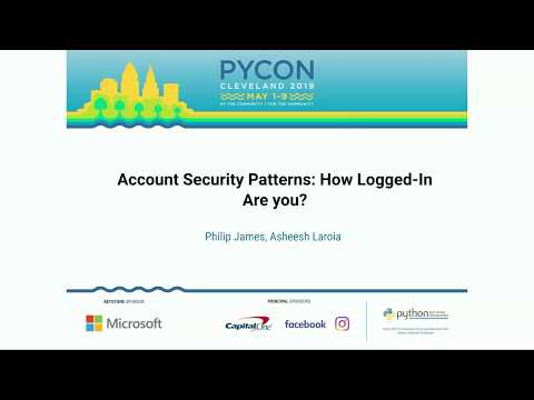 Account Security Patterns: How Logged-In Are you?
