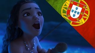 Moana / Vaiana - How Far I'll Go - Reprise - Portuguese Movie Version