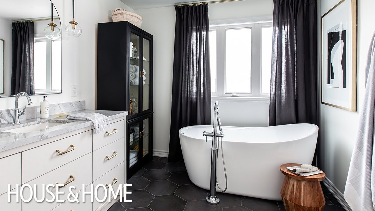 Bathroom Reno: How to make a Bathroom feel Decorated