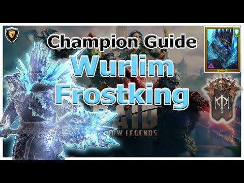 RAID Shadow Legends | Champion Guide | Wurlim Frostking
