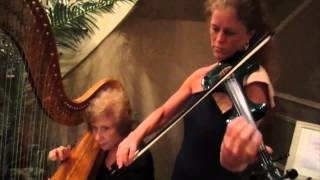 Minuet by Rousseau/Harp and Electric Violin,  Classical Music/New Jersey