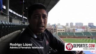 Rodrigo Lopez inicia una nueva etapa como locutor de Arizona