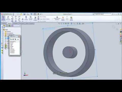 Jant Tasarımı CAD CAM Solidworks