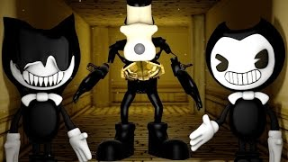 Bendy and the Ink Machine Animation - Wolf Jumpscare