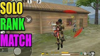 solo rank match gameplay|| Rank match tips and tricks|| Run gaming🎮